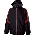 custom team logo 229059 Holloway charger jacket