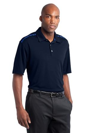 Custom embroidered 527807 nike golf dri fit graphic polo for Custom adidas dri fit shirts