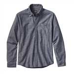 Custom Patagonia Chambray Long Sleeve Shirt