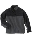 88066 MEN'S NORTH END INTERACTIVE FILAMENT FLEECE COLOR BLOCK JACKET