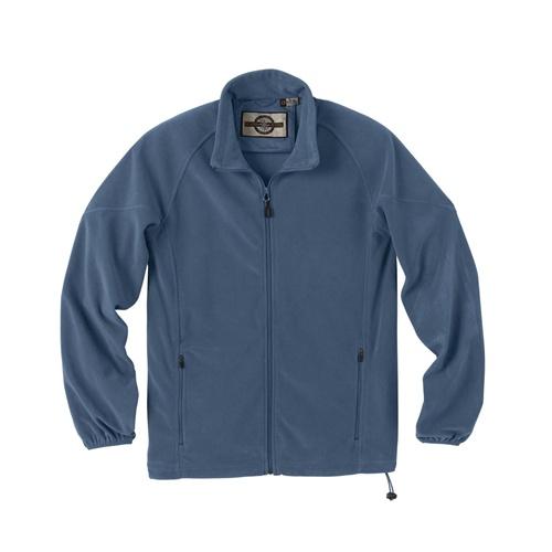Custom embroidered north end microfleece jacket