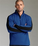 Custom Embroidered 9290 Charles River Quarter Zip Wicking Pullover