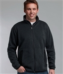 9493 Charles River Men's Heathered Fleece Jacket