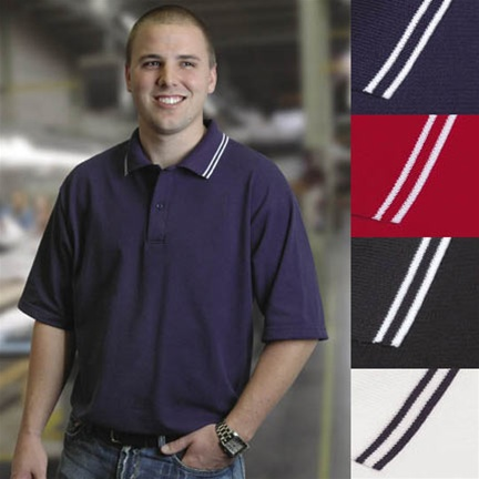 Custom embroidered made in usa union polo shirts for Union made polo shirts