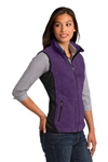 L228 Ladies Port Authority Custom Fleece Vest