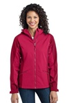 L312 Port Authority Ladies Gradient Hooded Soft Shell Jacket