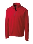Custom Embroidered MQO00027 Clique Men's Summit Half Zip Microfleece