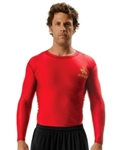 Long Sleeve Custom Compression Tee Shirt
