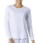 NW3002 A4 Womens Long Sleeve Cooling Performance Crew