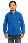Y217  Port Authority Youth Value Fleece Jacket