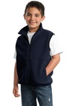 YJP79 Port Authority Youth R-Tek Fleece Vest