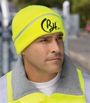 CornerStone Safety Beanie with Reflective Stripe