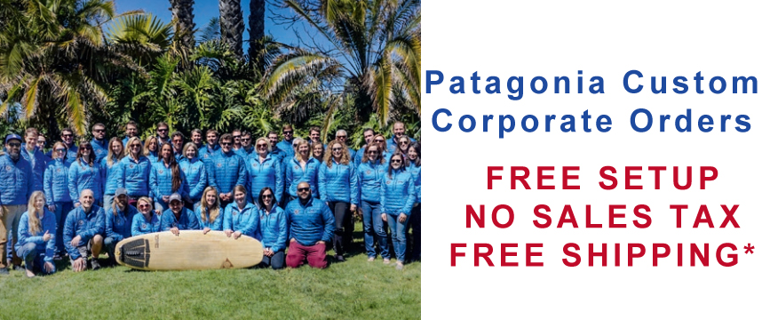 Patagonia | Order Patagonia Custom Embroidered Apparel and