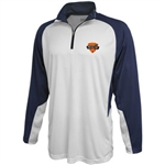 1126 Pennant Carbon Warmup 1/4 Zip Pullover