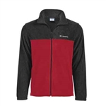 Custom Embroidery Columbia Colorblock Full-Zip Steens Mountain Fleece Jacket