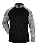 Badger Custom 1487 Blend Sport Fleece 1/4 Zip