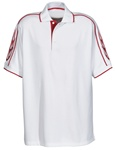 208 Tri Mountain Redliner Flame Polo Shirt