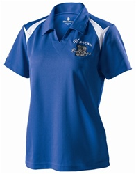 222346 Holloway Ladies Laser Polo Shirt. Mens compliment available.