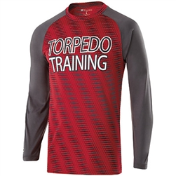 222511 Holloway Torpedo Long Sleeve Shirt - LogoWear Plus