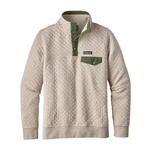 Custom Logo Patagonia Women's Cotton Quilt Snap-T Pullover