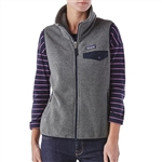 Embroidered Patagonia Fleece Vest