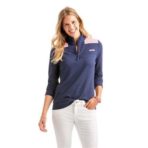 35a1353c1a2d32 Custom Vineyard Vines Women's Oxford Stripe Shep Shirt