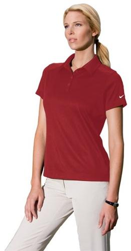 432ee09d Custom Embroidered 354064 NIKE Ladies Dri-FIT Pebble Texture Sport Shirt