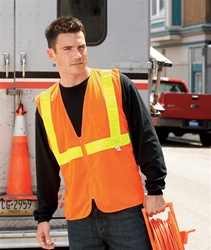 Safety Hi Visibility Mesh Vest - Customizable with your logo