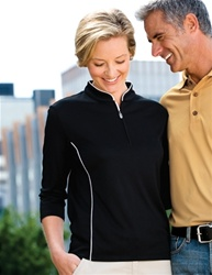 Tri Mountain Ladies Pullover Shirt perfect for your custom embroidered logo