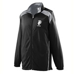 4381 Augusta Sportswear Youth Brushed Tricot Tri-Color Jacket