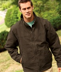 5028 Dri Duck Adult Maverick Quarry-Washed Canvas Jacket