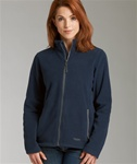 5250 Charles River Apparel Womens Boundary Fleece Jacket