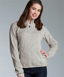 5312 Charles River Ladies Heathered Fleece Pullover