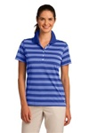578678 Nike Golf Ladies Dri-FIT Tech Stripe Polo