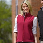 5819 Charles River Apparel Women's Soft Shell Vest