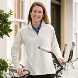 Embroidered Charles River Apparel Microfleece