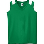 598 Augusta Sportswear Ladies Poly/Cotton Color Block Jersey