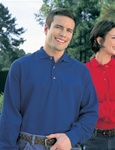 608 Tri Mountain Long Sleeve Champion Polo