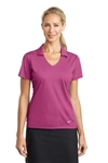 Custom Embroidered Ladies Nike Golf Dri-Fit Verical Mesh Polo 637165