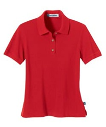 75041 LADIES SHORT SLEEVE PIQUE POLO WITH TEFLON