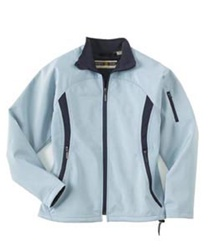 78034 North End  LADIES' PERFORMANCE BRUSHED BACK SOFT SHELL JACKET