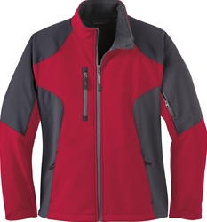 78077 North End Ladies Color Block Soft Shell Jacket