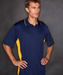 8406 UltraClub Adult Cool & Dry Sport Two-Tone Polo