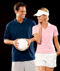 8407 UltraClub Ladies Cool-N-Dry Sport Polo