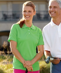 8445L UltraClub Ladies Cool-N-Dry Stain-release Performance Polo
