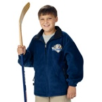 8502 Charles River Apparel Youth Voyager Fleece Jacket