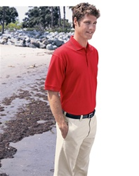 85027 MEN'S EDRY ARIEL CORD TIPPED POLO