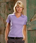 Ultra Club Custom Embroidered Ladies Polo Shirts