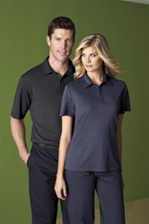 85097 Mens Rayon Recycled Polyester Polo