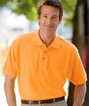 8535 UltraClub Men's Classic Pique Polo. Custom Embroider with your custom logo.